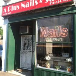 A plus nail salon nail salons carle place ny yelp for A plus nail salon