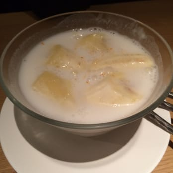 Bananas in coconut milk...yummy