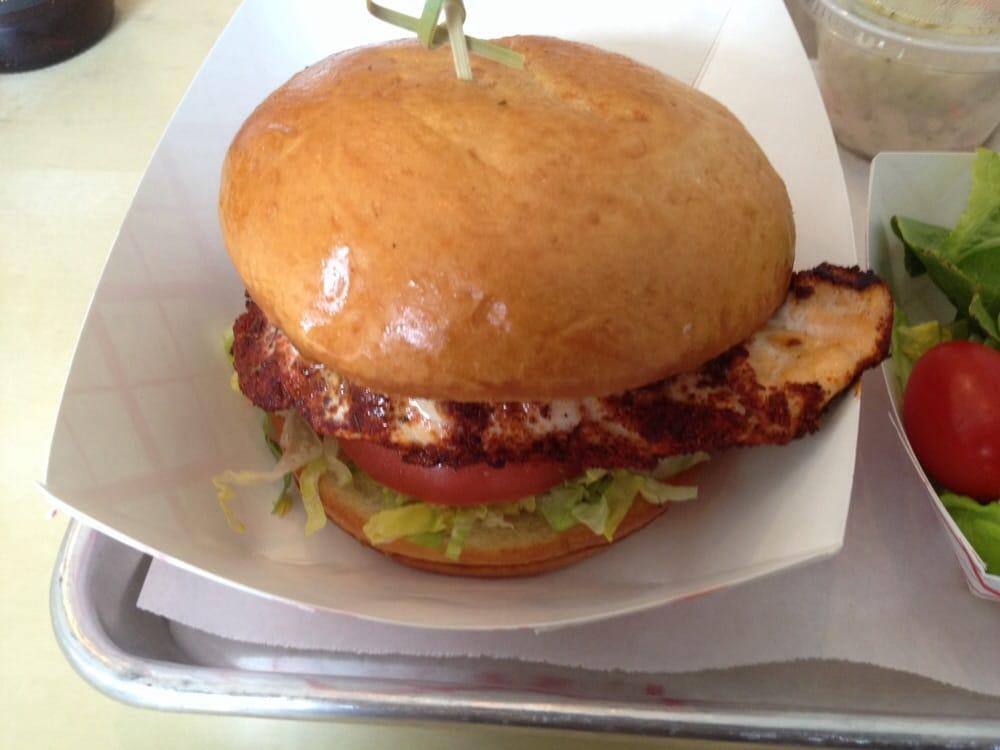 Blackened Salmon Sandwich hb Seafood Blackened Salmon