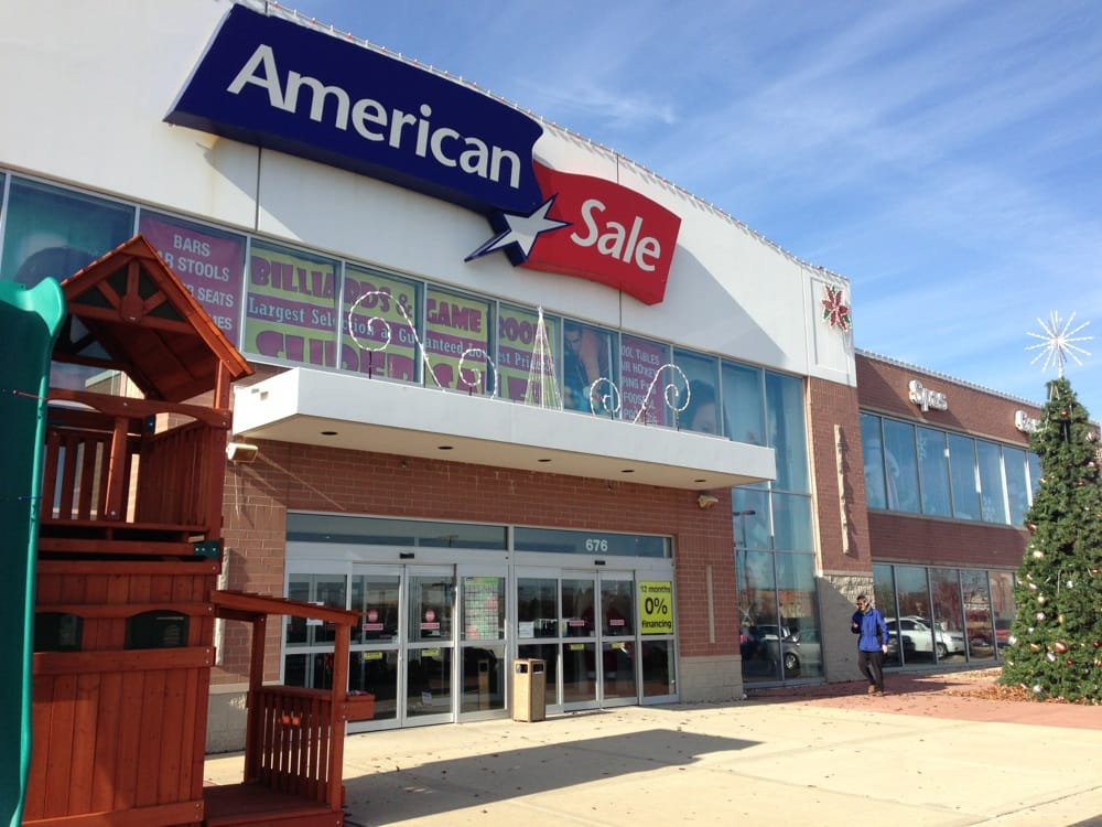 American Sale - Naperville reviews | Retail at Amersale Drive - Naperville IL reviews of American Sale - Naperville from Naperville, IL The whole team at the Naperville store was awesome. Memo was a great sales associate.4/4(21).