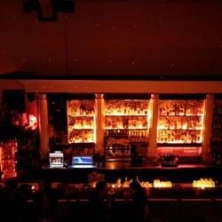 Die Bar von oben.