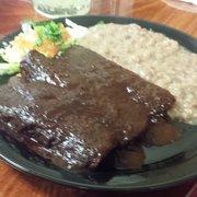 Fiesta's Mexican Grill - Chino, CA, États-Unis. Enchiladas mole
