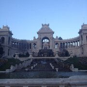 Palais front view