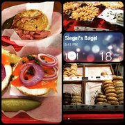 Siegel's Bagels - Vancouver, BC, Canada. Great Bagel with smoked meat yum!