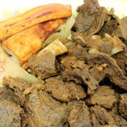 Island Vybz Cafe - Curry Goat - Baltimore, MD, Vereinigte Staaten