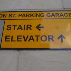 Houston Street Parking Garage logo