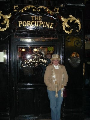 We were here in 2003. Back for another pint at the Porcupine in 2013.