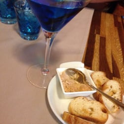 Le cocktail grand bleu et sa rillette de…