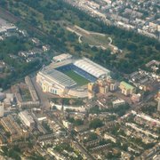 Stamford Bridge from the plane