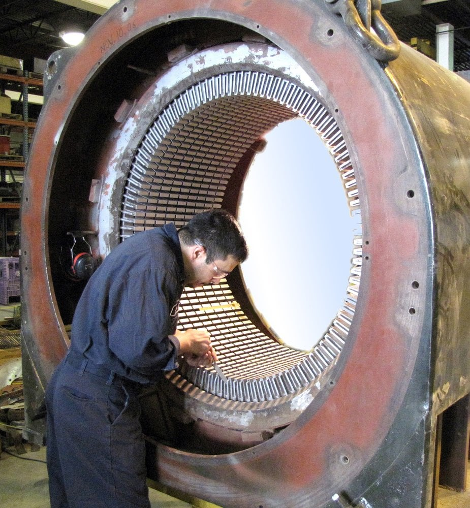 Rebuilding large industrial motors is our specialty yelp for Who rebuilds electric motors