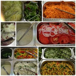 Salatbuffet zum Spanferkel (2,50 € pP)