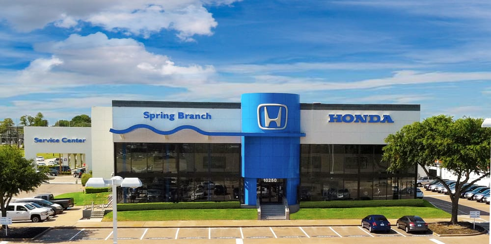 Spring branch honda car dealers spring branch for Honda dealerships in houston