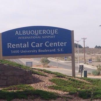 Albuquerque Airport Rental Car Return