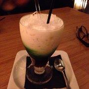 Tjendol dessert drink. Totally worth the…