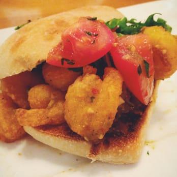 Olive Garden Italian Restaurant Duluth Ga United States Shrimp Scampi Frittata Sandwich Half