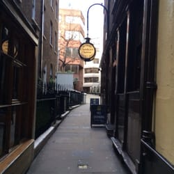 The entrance is in an alleyway. You'll…