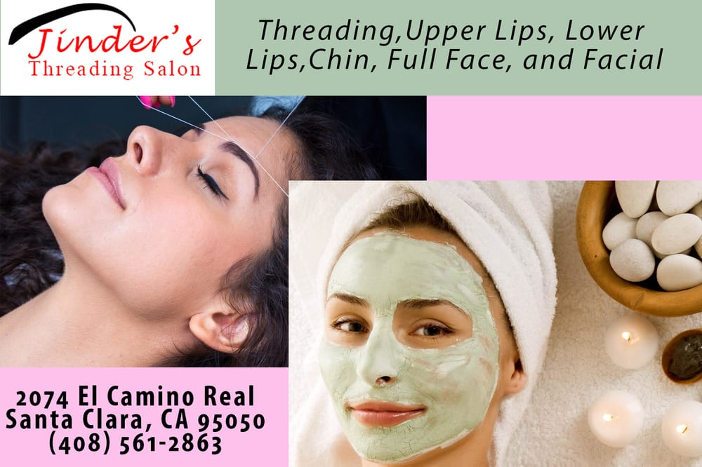 Jinder threading salon hair removal santa clara ca for Academy salon santa clara