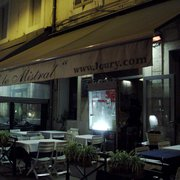 "Restaurant Chez Loury - Marseille, France. ""Chez Loury"" by night"