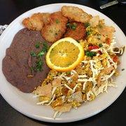 Green Vegetarian Cuisine at Pearl Brewery - Vegan Migas! - San Antonio, TX, Vereinigte Staaten