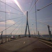 Pont De Normandie, Honfleur, Calvados