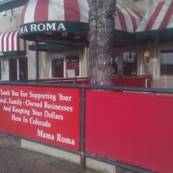 Mama Roma Pasta & Pizza logo