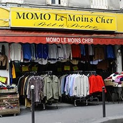 momo le moins cher thrift stores belleville m nilmontant paris france reviews photos. Black Bedroom Furniture Sets. Home Design Ideas