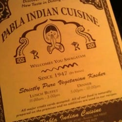 Pabla Indian Cuisine logo