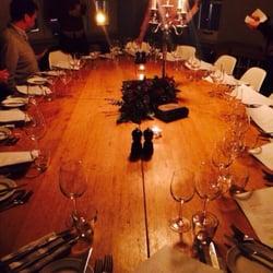 Il nostro tavolo in sala dedicata