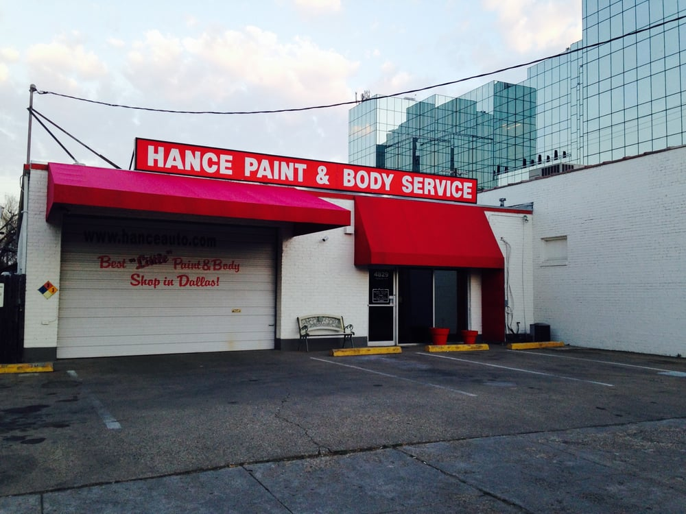 Dallas Auto Body Paint Shops