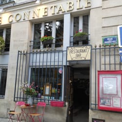 Le Connétable, Paris