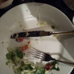 I'm so full from my cobb salad. Yum.