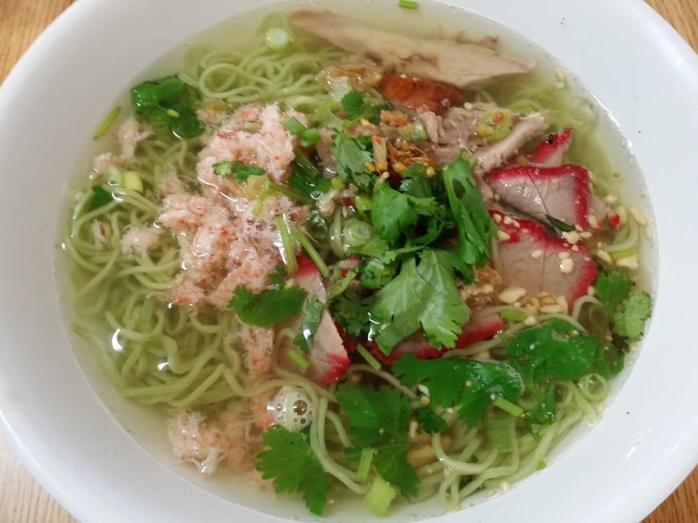 Jane Thai Food Menu