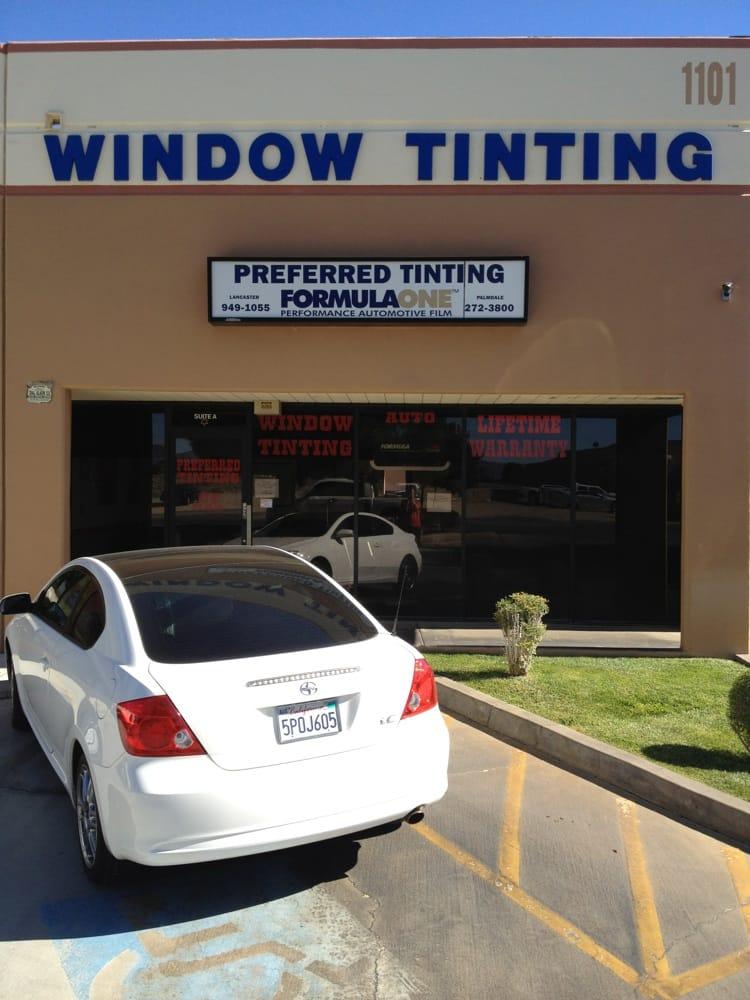 Preferred Window Tinting Inc Auto Glass Services
