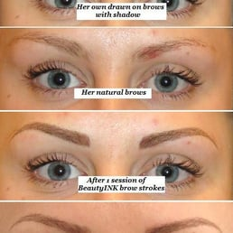 Eyebrow Tattoo Before And After Healing