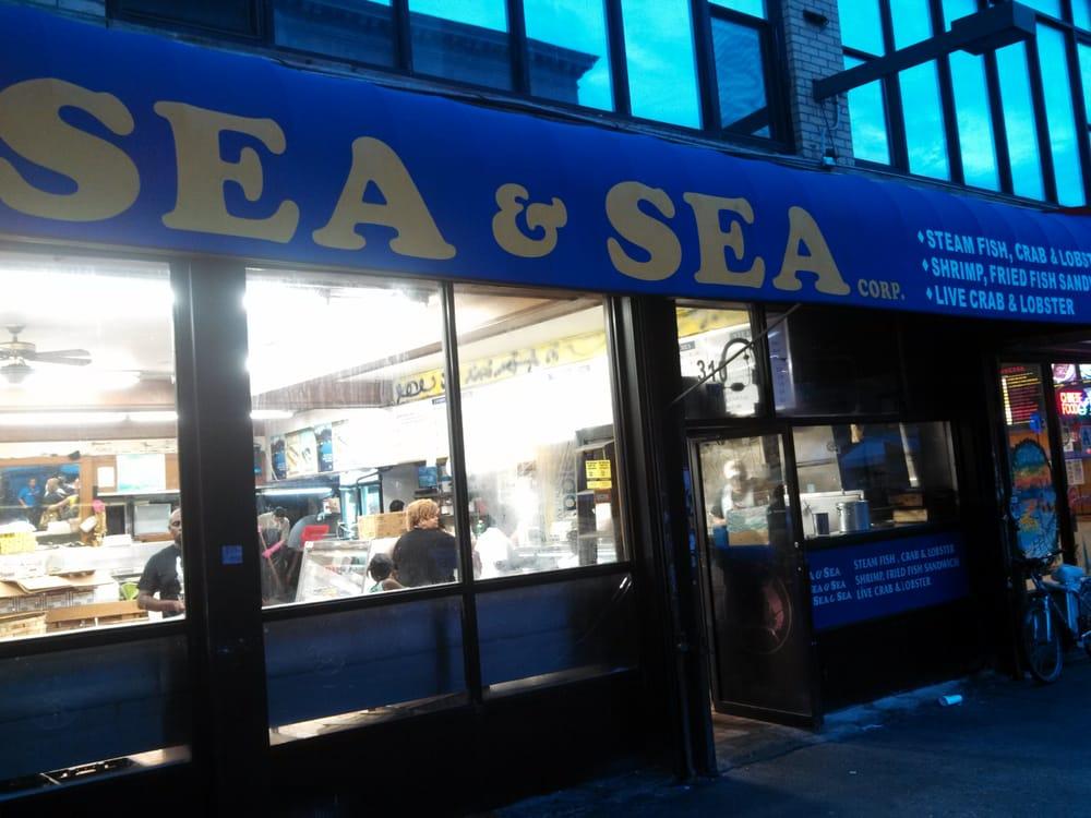 Sea sea fish market seafood markets harlem new for Fish market nyc