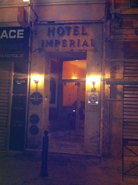 Hotel imperial marseille