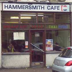 Hammersmith Cafe, London