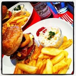 Franky's blues burger