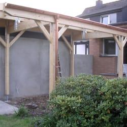Terrassendach in Holz