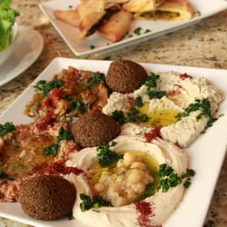 Dawali Mediterranean Kitchen Appetizer Sampler