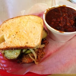 Uncle Wendell's BBQ Catering, and Bakery - The ingersoll sandwich! - Des Moines, IA, Vereinigte Staaten