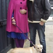 Lynnette & Nick Bateman and Miss Polar Dog Bateman owners of http://www.lovelysvintageemporium.com