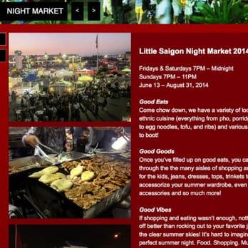 Asian Garden Night Market Vietnamese Restaurants