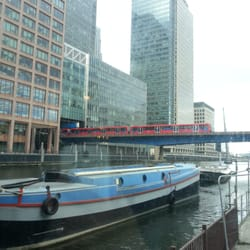 Heron quays D.L.R. station viewed from…