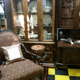 Beautiful China cabinets,  captain chair and lots more to enjoy!