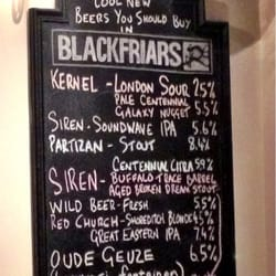 The latest cool new beers you should buy in Blackfriars