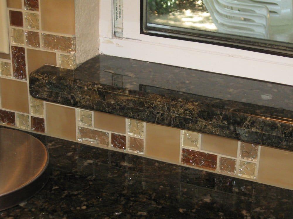 Granite Companies Near Me : Souza Tile Company - San Jose, CA, United States. Backsplash in galss ...