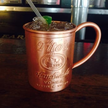 ... United States. Moscow mule; vodka, ginger beer & fresh lime. So good