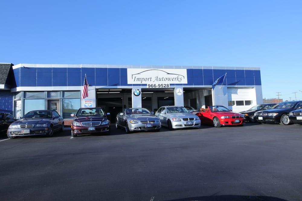 Import autowerks auto repair portsmouth va photos for Mercedes benz oil change near me