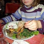 Jolie assiette pour bel appêtit